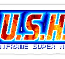 Musha (Genesis) Title Screen Sticker