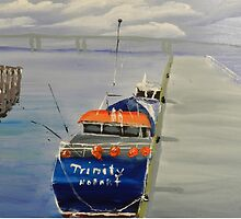 Trinity Long Line Fishing Trawler out San Remo by PamelaMeredith