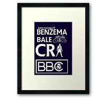 BBC Real Madrid Framed Print