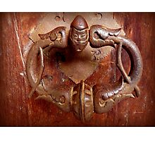 Medieval Door Knocker Photographic Print