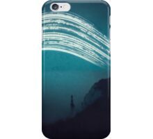 3 month exposure at Beachy head lighthouse UK iPhone Case/Skin