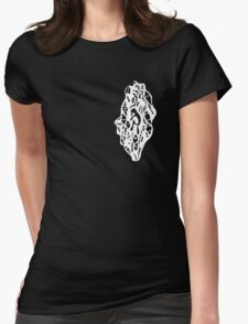 With A Heavy Head (3:15AM) Womens Fitted T-Shirt