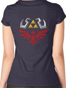 Hylian Shield - Skyward Sword Women's Fitted Scoop T-Shirt