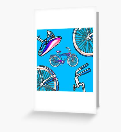 Retro Bicycle Greeting Card