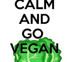 Romaine Calm and Go Vegan by SarGraphics