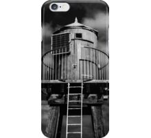 Whitby Pier Lighthouse Hut  iPhone Case/Skin