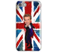 12th Doctor Egg Head Caricature iPhone Case/Skin
