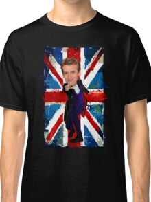 12th Doctor Egg Head Caricature Classic T-Shirt