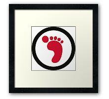Ecological Footprint Framed Print