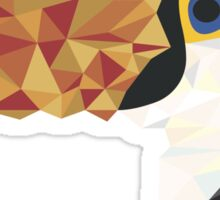 Geometric Toucan Sticker