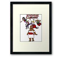 Adventure Island Framed Print