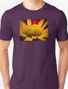 Macro Cone Flower Unisex T-Shirt