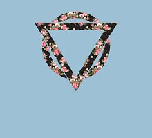 Enter shikari floral logo Womens Fitted T-Shirt