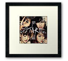 Sistar Korean Girlband by bimak Framed Print