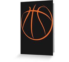 Basketball Greeting Card