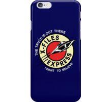 X Files Express iPhone Case/Skin