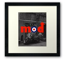 Mod Music Quote Framed Print