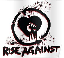 Rise against - metal music Poster