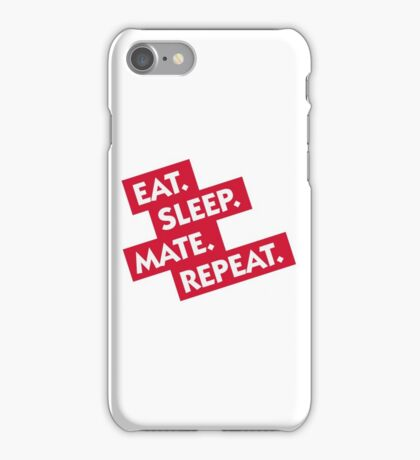 Essen. Sleeping. Multiply. Repeat. iPhone Case/Skin
