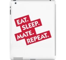 Essen. Sleeping. Multiply. Repeat. iPad Case/Skin