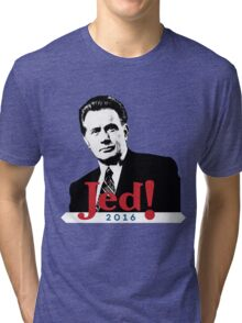 Jeb! Ahh.. I Mean JED! Tri-blend T-Shirt