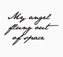 my angel, flung out of space by ElyB