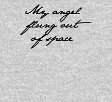 my angel, flung out of space Women's Fitted Scoop T-Shirt