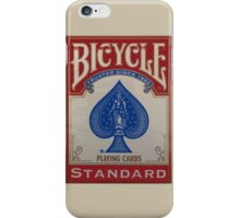 Bicycle Playing Cards - Standard iPhone Case/Skin
