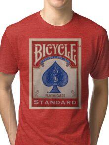 Bicycle Playing Cards - Standard Tri-blend T-Shirt