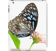 Butterfly 4- Blue triangle iPad Case/Skin