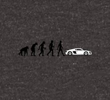 Evolution of Man - Audi R8/R10 Unisex T-Shirt