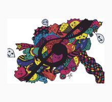 Musical Doodle One Piece - Long Sleeve