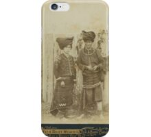Burma--Beato, Felice A COLLECTION OF 17 CABINET CARD PHOTOGRAPHS. [MANDALAY iPhone Case/Skin
