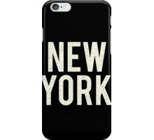 New York (Vintage Decay Version) iPhone Case/Skin