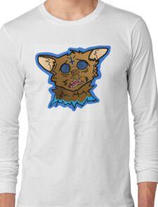 Trippy Acid Cat Long Sleeve T-Shirt