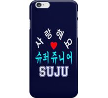 ♥♫SaRangHaeYo(I Love You) K-Pop Boy Band-Super Junior Clothes & Phone/iPad/Laptop/MackBook Cases/Skins & Bags & Home Decor & Stationary♪♥ iPhone Case/Skin