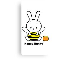 I Love You Collection: Honey Bunny Canvas Print