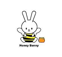 I Love You Collection: Honey Bunny Photographic Print