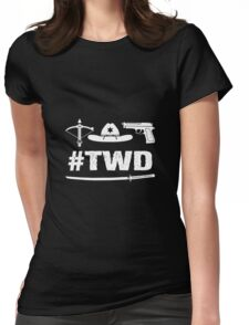 The Walking Dead - TWD Womens Fitted T-Shirt