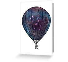 Galaxy Balloon Greeting Card