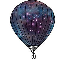 Galaxy Balloon Photographic Print