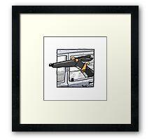Wheee! Framed Print