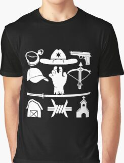 The Walking Dead - Symbols Graphic T-Shirt