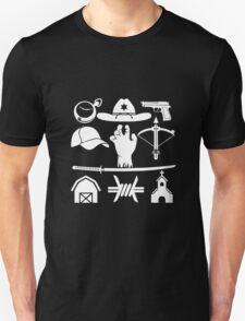 The Walking Dead - Symbols Unisex T-Shirt