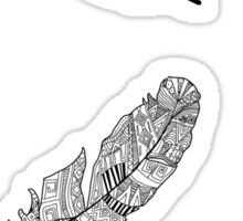 Aztec Feather Sticker