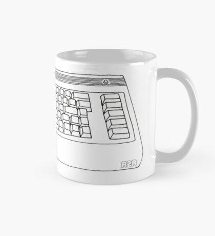 Commodore 64 C64 Design Reel to Real White Series Mug
