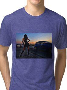 A girl Tri-blend T-Shirt