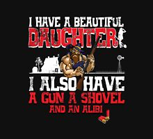 I Have A Beautiful Daughter - Black Distressed Variant Unisex T-Shirt