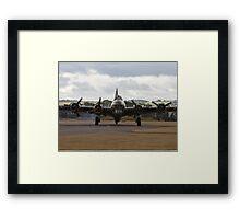 WW2 B-17 Sally B at Duxford Framed Print