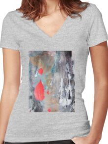 SP No.30 Women's Fitted V-Neck T-Shirt